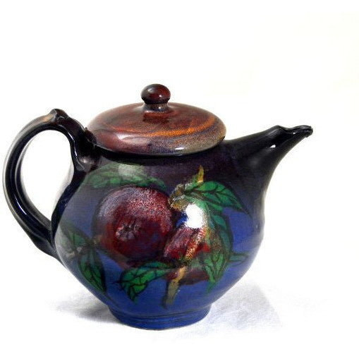 APPLE DESIGN TEAPOT - Side Street Studio