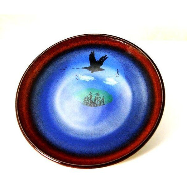 CROW DESIGN SERVING PLATE