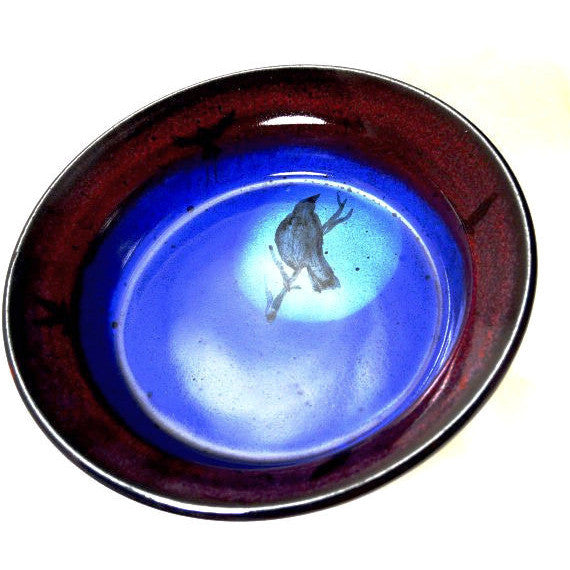CROW DESIGN PIE DISH - Side Street Studio - 1