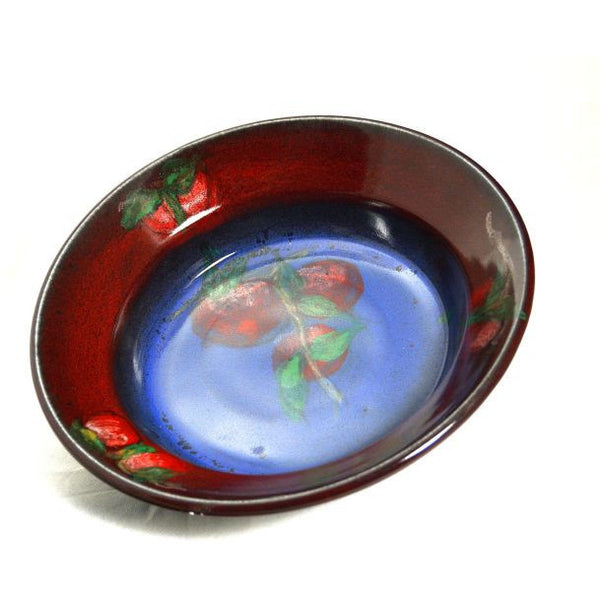 RED APPLE PIE DISH - Side Street Studio