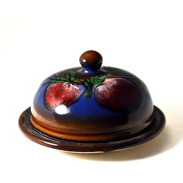 APPLE DESIGN BUTTER DISH - Side Street Studio - 1