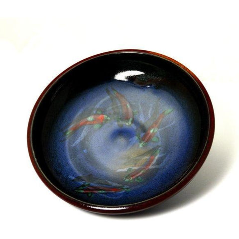 SALMON DESIGN LOW BOWL - Side Street Studio  - 1