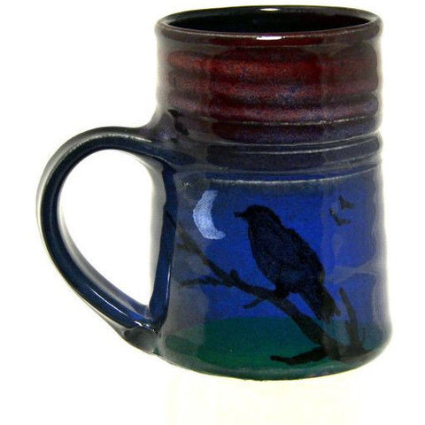 SMALL CROW AND MOON MUG - Side Street Studio - 1