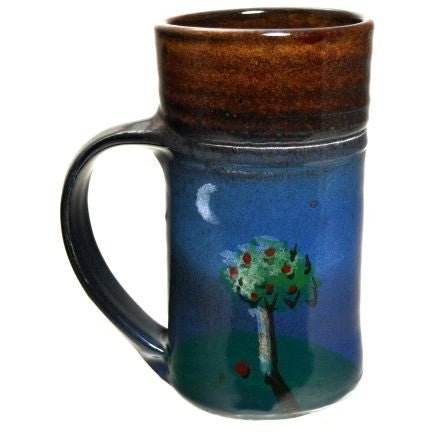 TREE AND MOON MUG - Side Street Studio