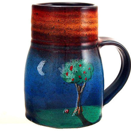 MOON & TREE DESIGN WIDE BASE MUG - Side Street Studio