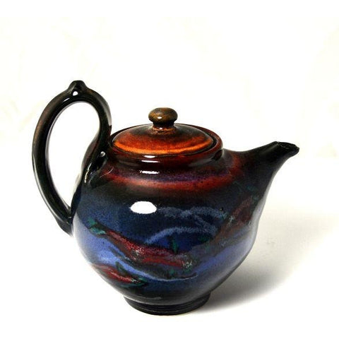SALMON DESIGN TEAPOT