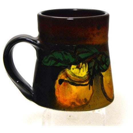 SMALL WIDE BASED PEAR MUG - Side Street Studio