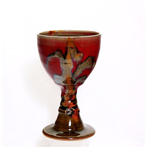 RUBY AND OLIVE GOBLET - Side Street Studio