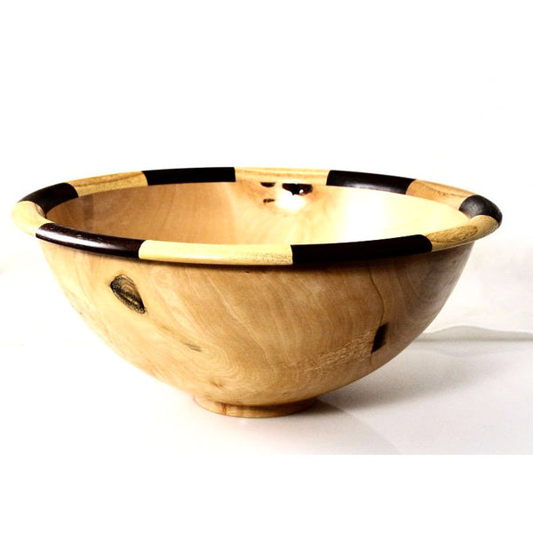 WESTERN RED MAPLE SALAD BOWL - Side Street Studio - 1