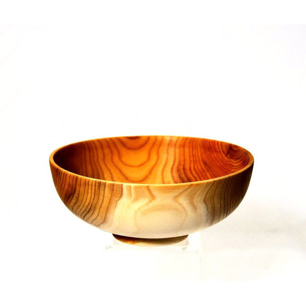 YEW WOOD BOWL - Side Street Studio