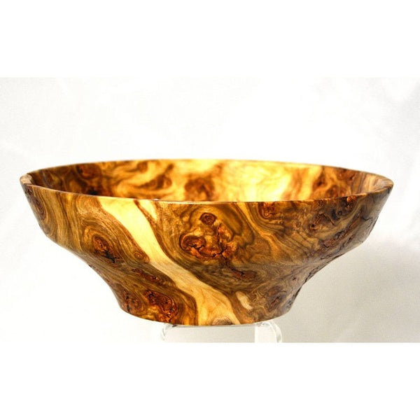 POPLAR WOOD BURL BOWL - Side Street Studio