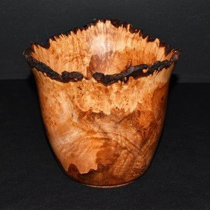Heartwood Studios Live Edge Birdseye Maple Vessel