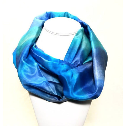 INFINITY DESIGN SILK SCARF - Side Street Studio - 1