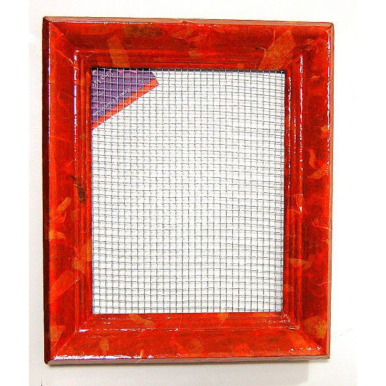 DECOUPAGE EARRING FRAME - Side Street Studio