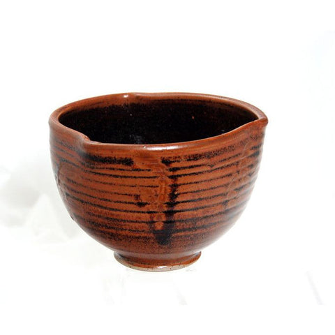 TEMMOKU DARTED RIM BOWL - Side Street Studio