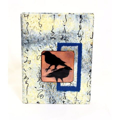 RAVEN DESIGN COPPER ENAMELLED NOTEBOOK - Side Street Studio