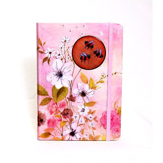 BEES DESIGN COPPER ENAMELLED JOURNAL - Side Street Studio