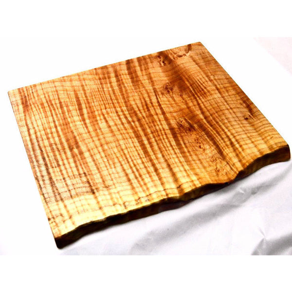 MAPLE WOOD SERVING PLATTER - Side Street Studio