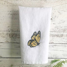 Monarch Butterfly Tea Towels by Emma Pyle