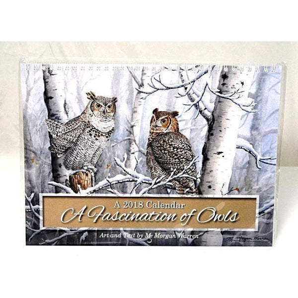 A FASCINATION OF OWLS CALENDAR 2018