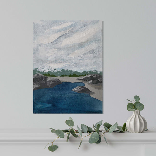 Original Acrylic Paintings - Onshore
