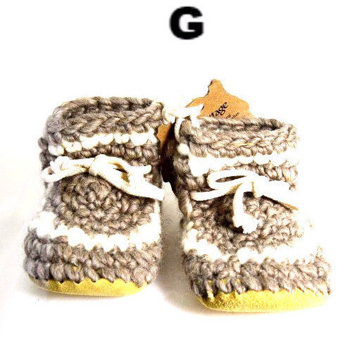 CHILDS WOOL SLIPPERS - SIZE 11 - Side Street Studio  - 1