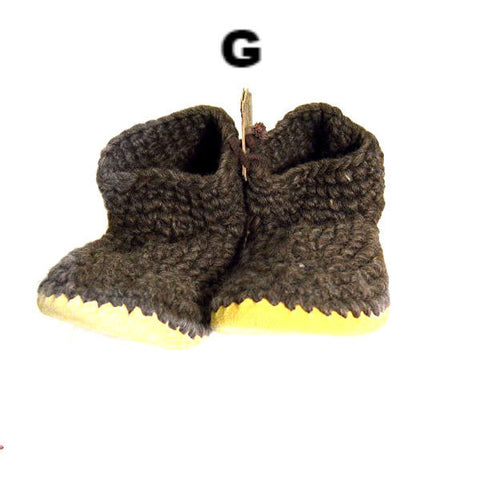 MEN'S PADRAIG SLIPPERS - LARGE - Side Street Studio - 1