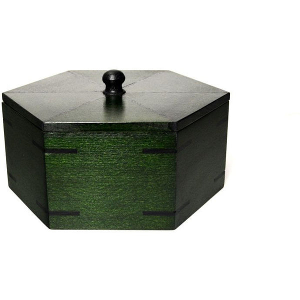 HEXAGONAL JEWELLERY BOX