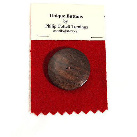 UNIQUE WOODEN BUTTON - Side Street Studio