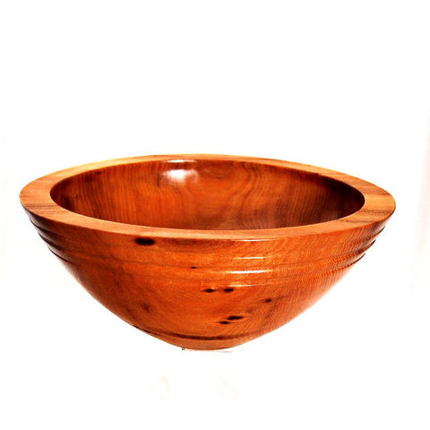 BLACK LOCUST WOOD BOWL - Side Street Studio - 1