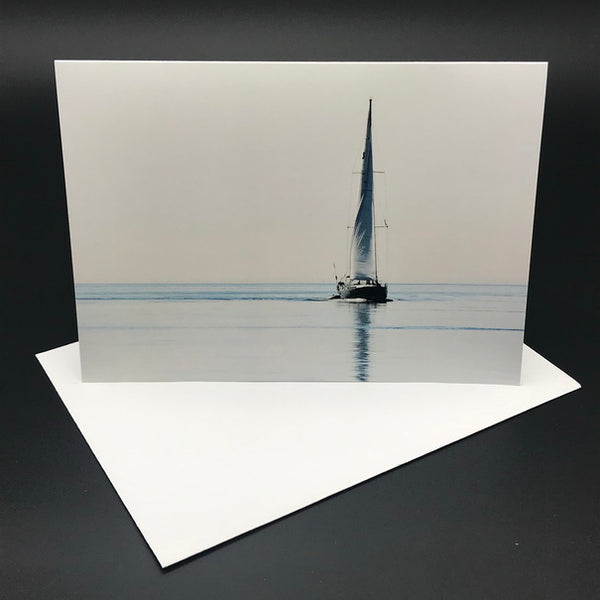 Glide Greeting Card