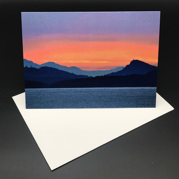 Cabbage Island Sunset lll Greeting Card