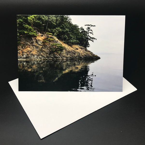 West Coast Shoreline l Greeting Card