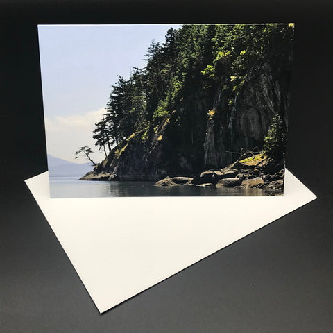 West Coast Shoreline ll Greeting Card