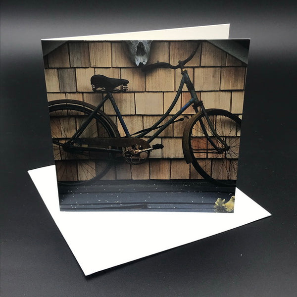 Old Bikes ll Greeting Card