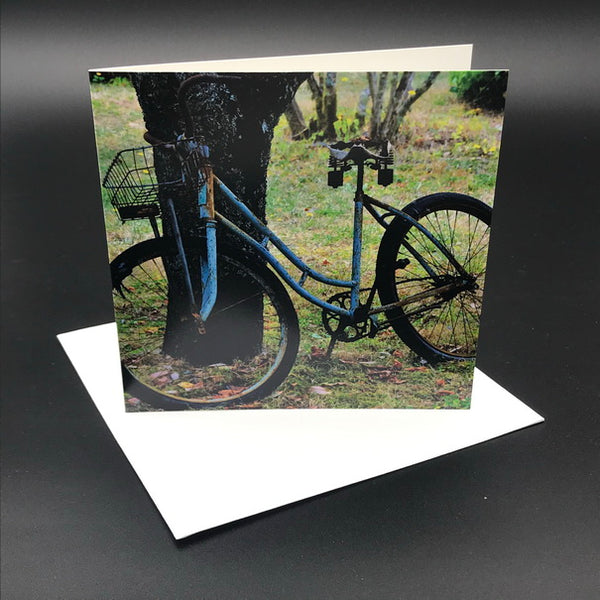 Old Bikes l Greeting Card