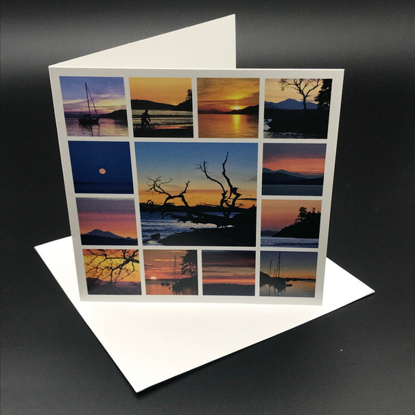 West Coast Sky Greeting Card