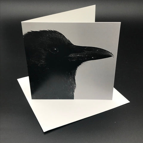 The Black Crow l Greeting Card