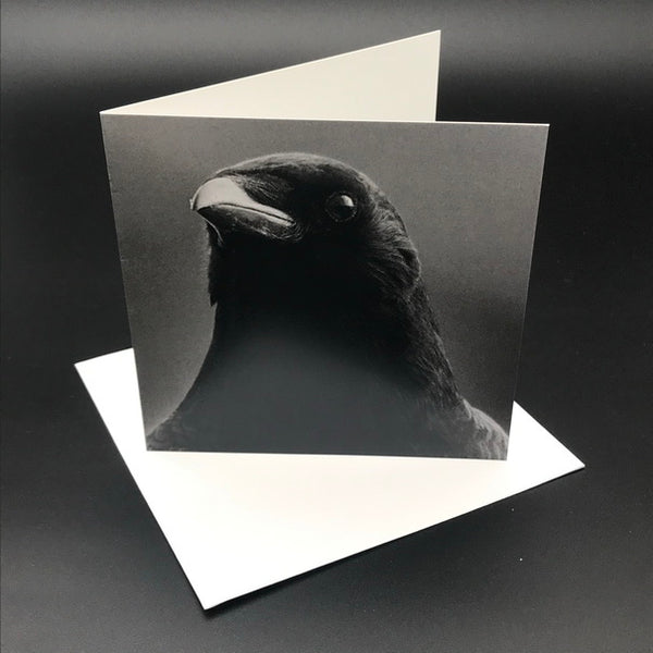 The Black Crow lll Greeting Card