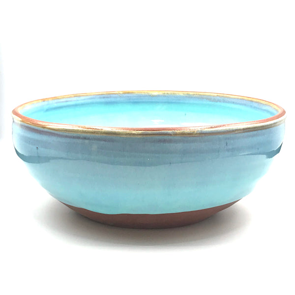 Turquoise Medium Bowl, 8 1/2 inches