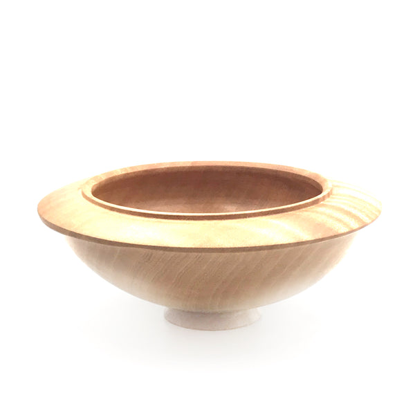 Figured Maple Bowl, 6 inches