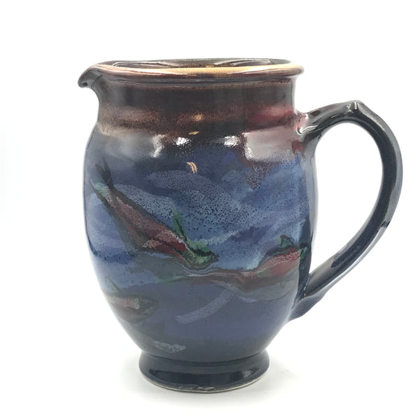 Salmon Design Pitcher