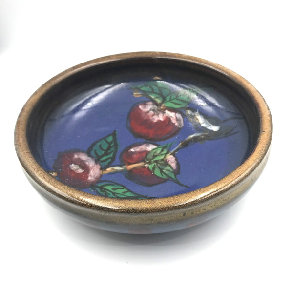Apple Design Serving Bowl
