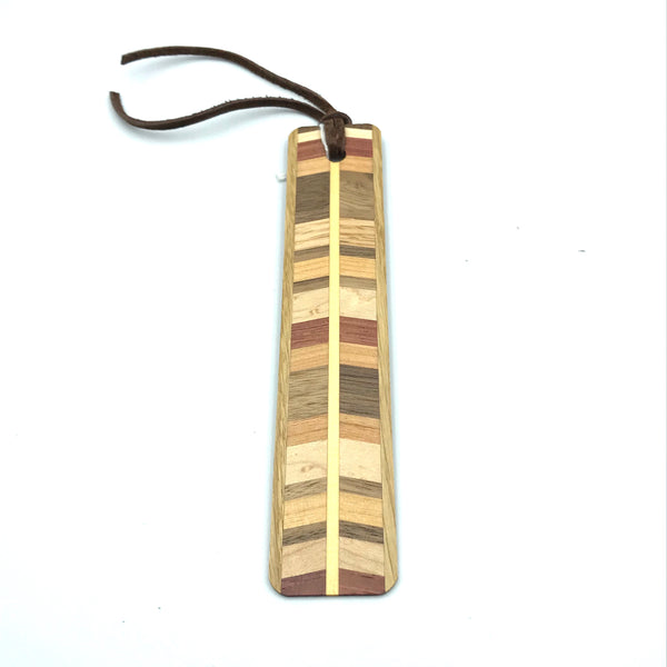 Wooden Bookmark in Chevron Designs