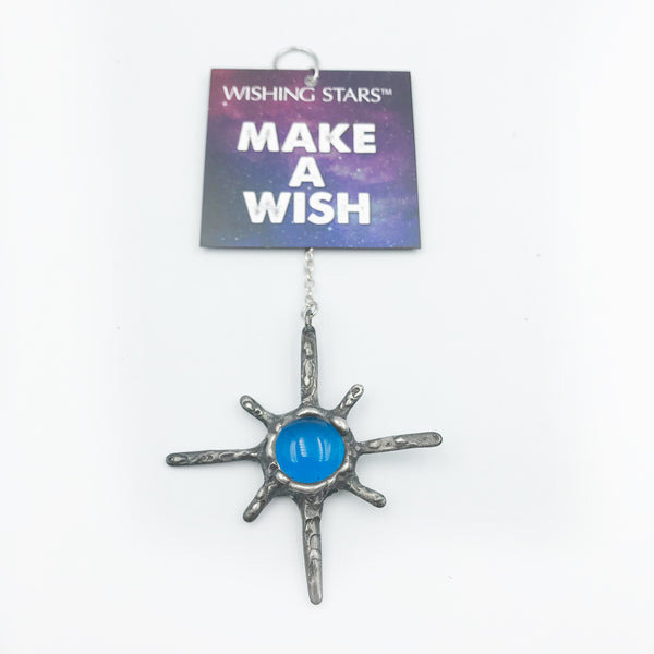 Wishing Star with Turquoise Blue Stone