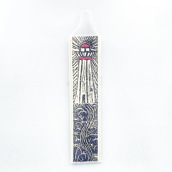 Bookmark with Lighthouse Print Design