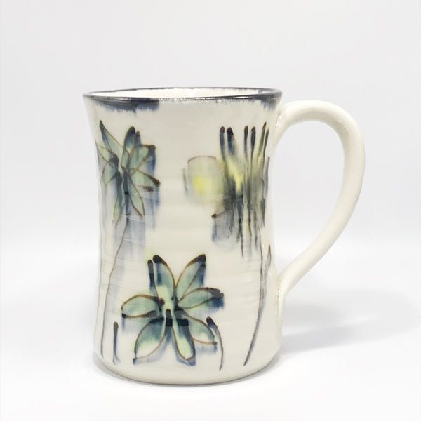 Yellow and Green Wild Flowers Mug