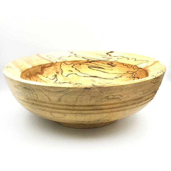 Spalted Birch Wooden Bowl