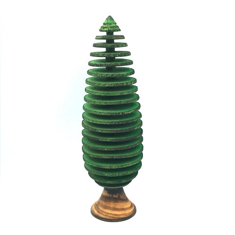 Small Conifers Tree in Green, 7 1/2 inches