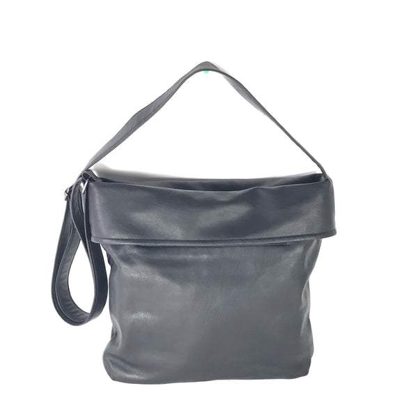 Small Soft Black Vegan Purse